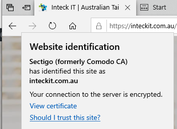 SSL Inteck IT Edge