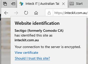 SSL Inteck IT Edge